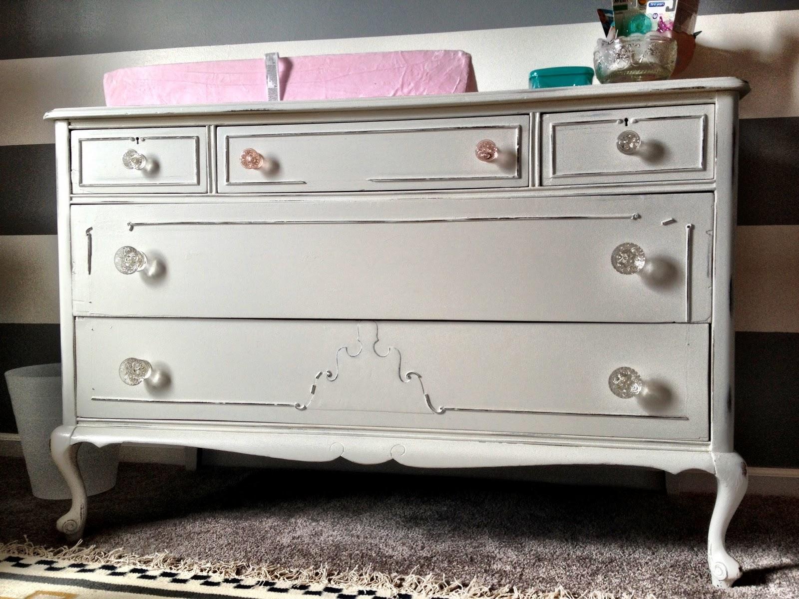 Antique White Changing Table Dresser ~ BestDressers 2017