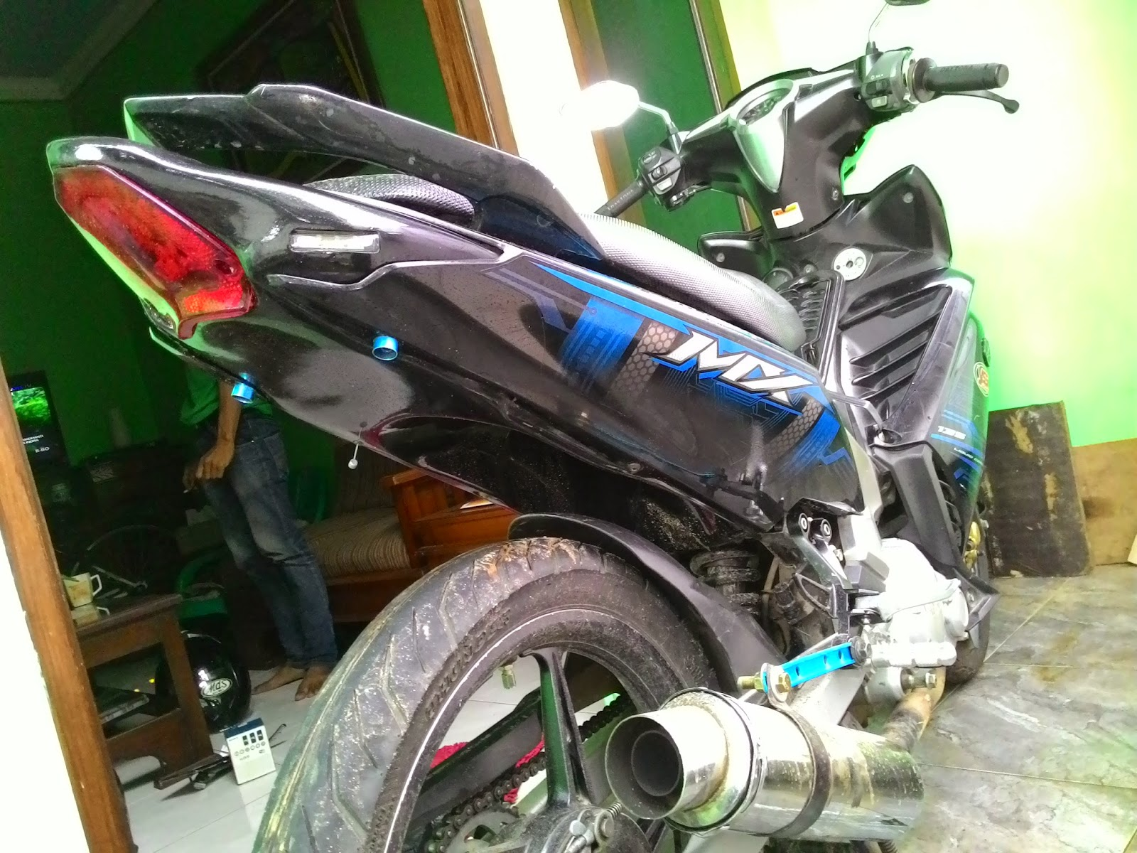 Cutting Sticker: Modifikasi New Jupiter Mx Undertail