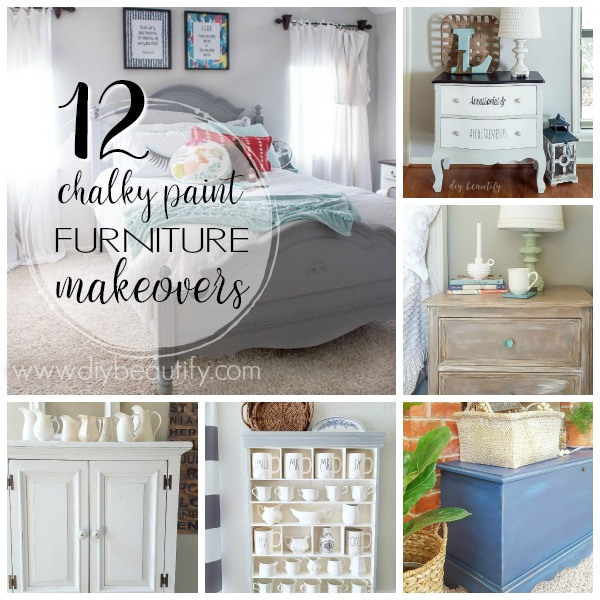 chalky painted furniture round up