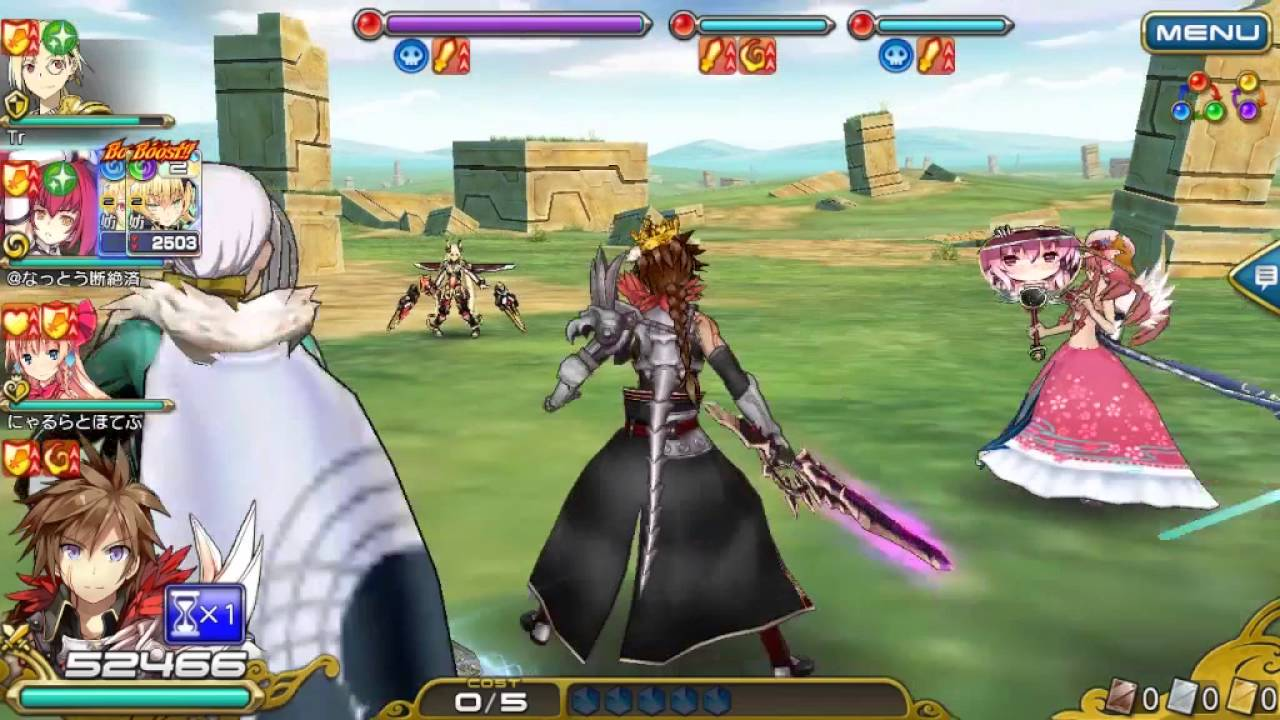 Tidak Hanya Artnya Saja Ketika Sedang Battle Character Anda Akan Muncul Secara 3D Dengan Grafik Yang Sangat Cool Namun Sayangnya Game Ini Berbahasa