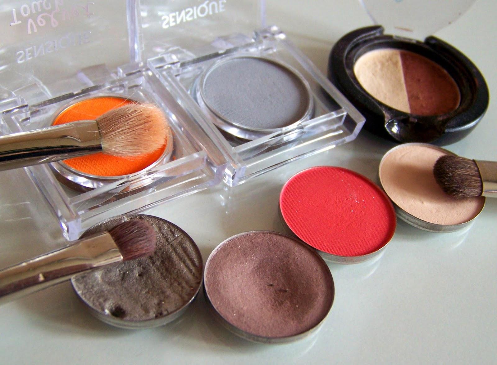 Makijaż nowymi cieniami Sensique: 148 & 156