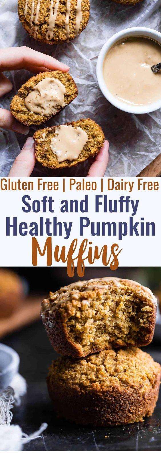 Gluten Free Paleo Pumpkin Muffins With Almond Flour