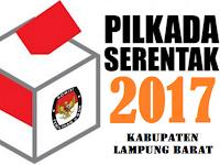 Ini Hasil perhitungan cepat / Quick Count Pilbup Lampung Barat 2017