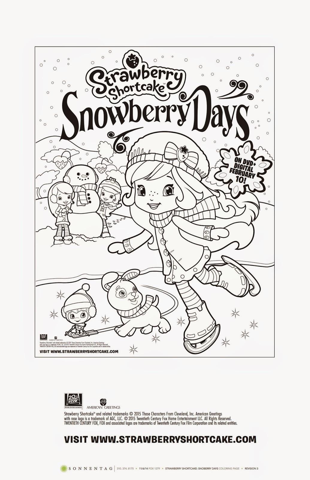 Heck Of A Bunch Strawberry Shortcake Snowberry Days