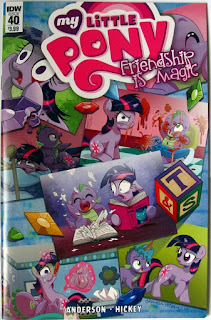 IDW My Little Pony comic issue #40 main cover