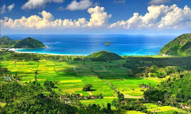 Pantai Mandalika Beach Lombok, wisata dunia