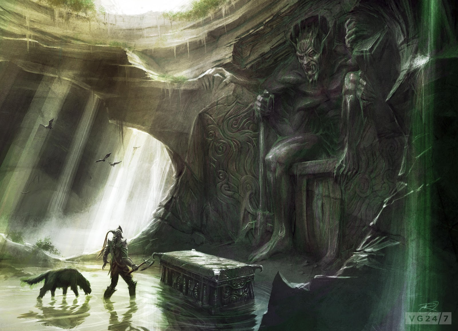 Tower Of The Archmage Sunday Inspirational Image Demon Cave