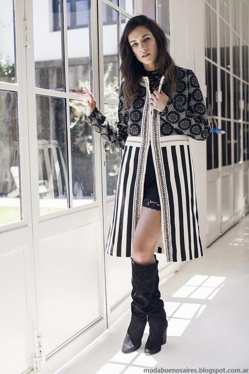 Moda mujer invierno 2016 ropa de moda otoño invierno 2016.
