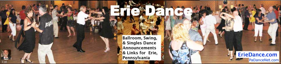 Ballroom Dance Groups in Erie, Pennsylvania | Erie Dance.com