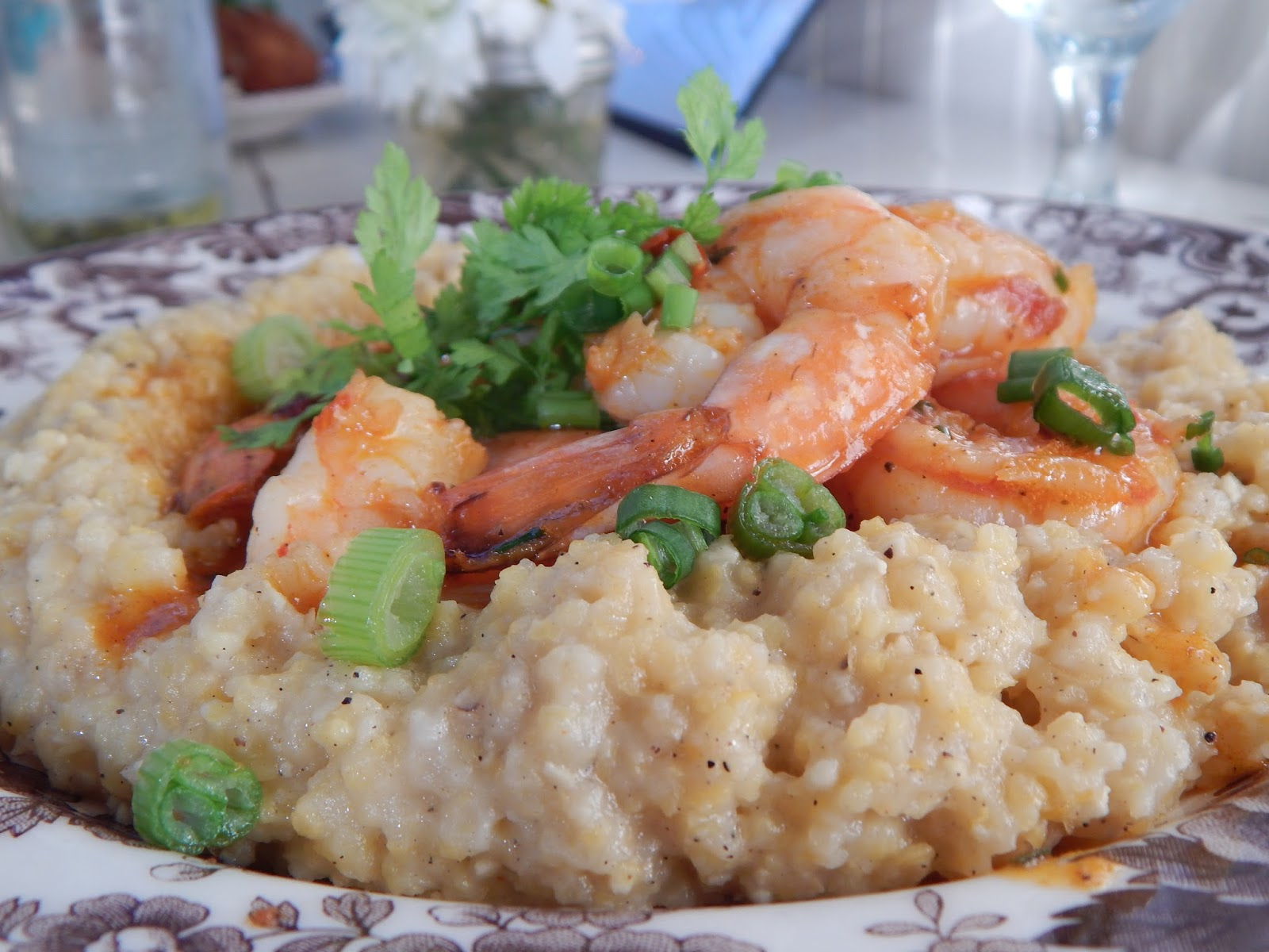 Shrimp and Grits Sissy's Southern Kitchen Brunch
