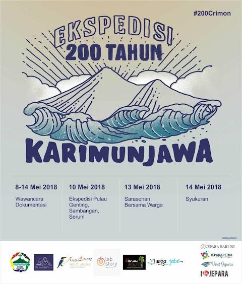 Ekspedisi 200 Tahun Karimunjawa, 7 – 16 Mei 2018