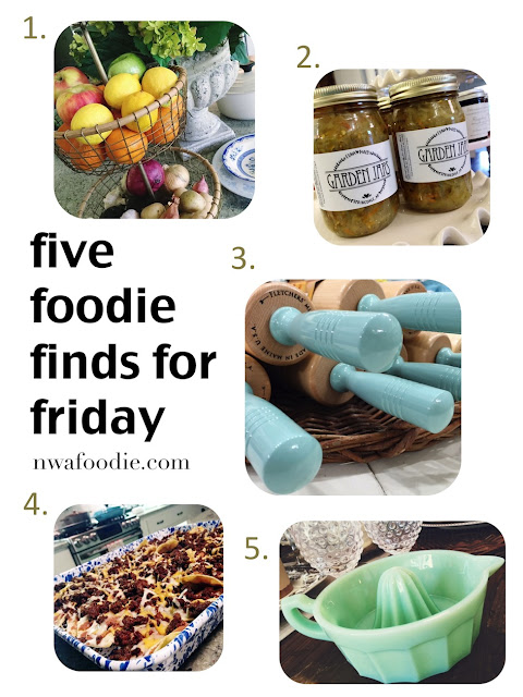 Five foodie finds for Friday Euna Maes (c)nwafoodie