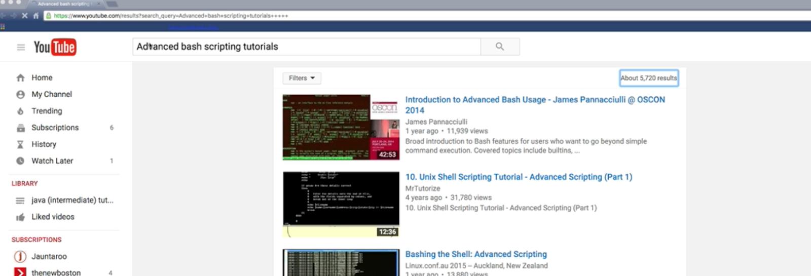 Unix Shell Scripting Tutorial Youtube Shell Scripting Tutorial for