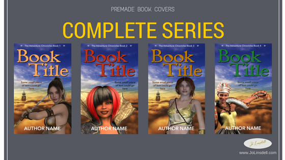 Series Premade eBook Covers €100,00 complete set (4 covers)