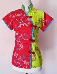 Gambar Model Baju Batik Model Cina Untuk Anak Remaja Terbaru