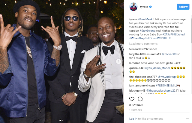 Didn't Will Smith give you $5m to stay off the internet? Fans troll Tyrese over Meek Mill message