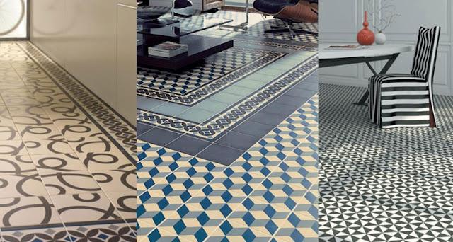 ceramicas de piso con formas