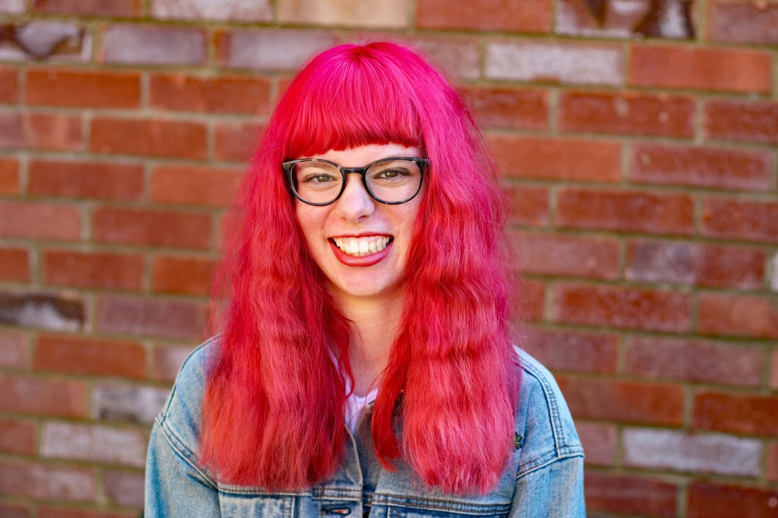 Let's Talk About Confidence body positivity happiness smile pink hair blogger UK mental health wellbeing