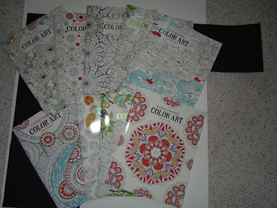 Adult Coloring Books from Leisure Arts a Great way to color and relax