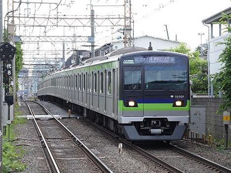 京王電鉄 各停 京王八王子行き7 都営10-300形490F~510F