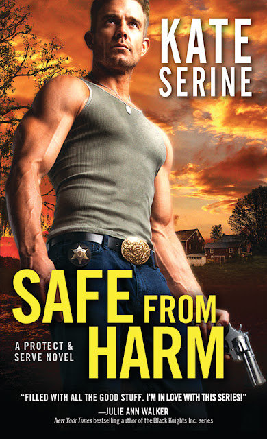 Excerpt, Giveaway, Safe From Harm, Kate SeRine, Bea's Book Nook