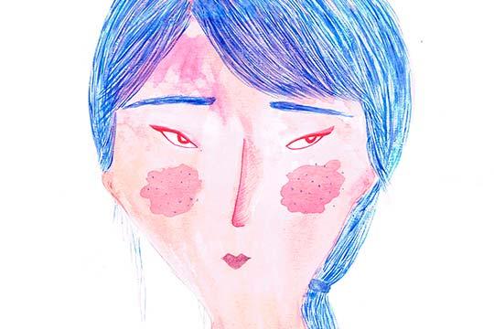 Ilustración, Azula de Fernanda Guerrero