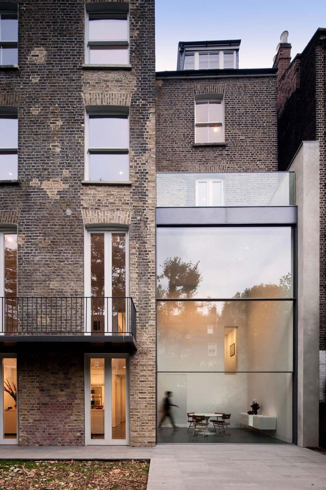 simplicity love bassett road house london paul o architects. Black Bedroom Furniture Sets. Home Design Ideas