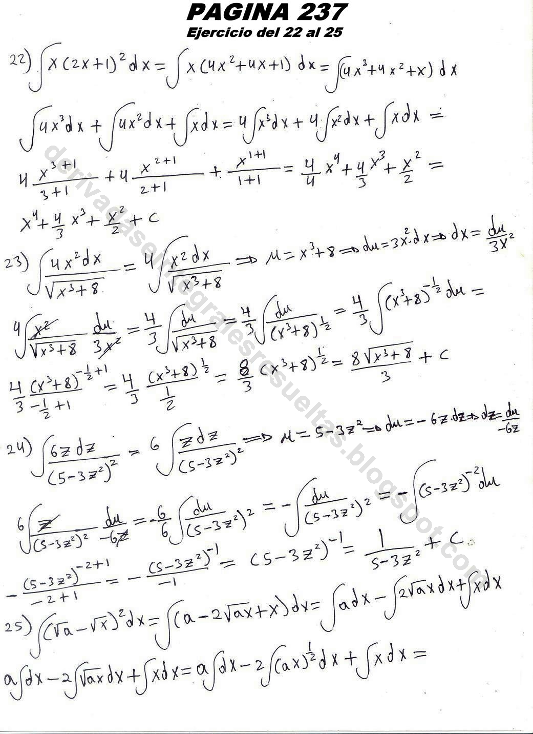 (2011) solucionario de granville de calculo diferencial e integral gratis en espa ol