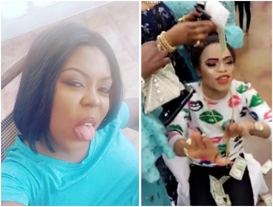 Ghanaian Actress, Blasts Nigerians Over Video Of Bobrisky Being Sprayed Dollars