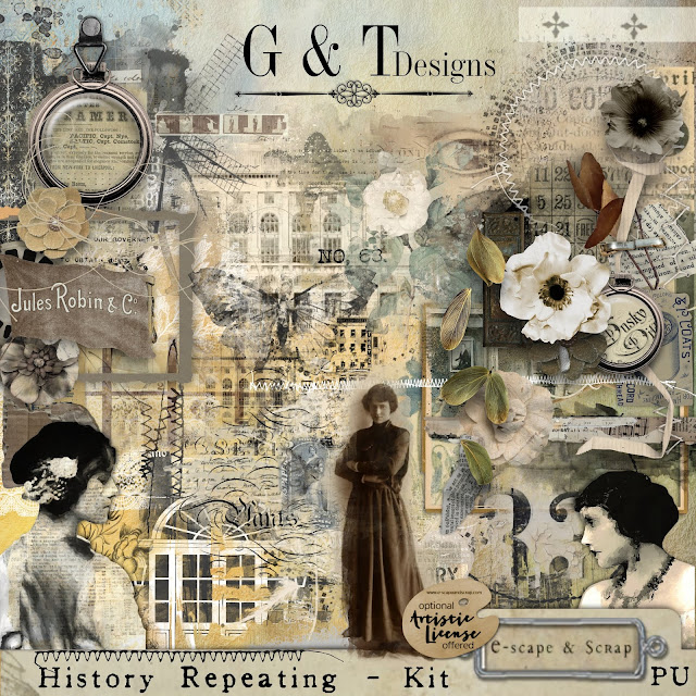 G&T Designs - History Repeating - Freebie