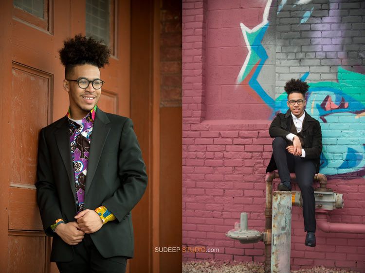 Cool Urban Style Senior Portrait Ideas Detroit Ann Arbor - Sudeep Studio.com