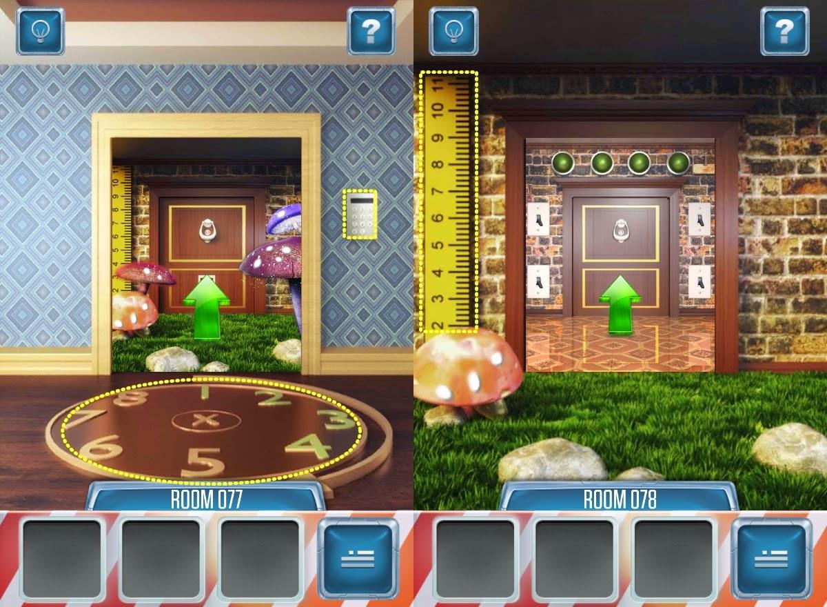Best Game App Walkthrough 100 Doors Remake Level 76 77 78