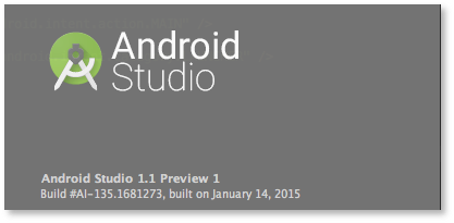 Android Studio 1.1 Preview