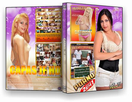 CAPA DVD – COLEÇÃO PORNO VOL 32 – ISO