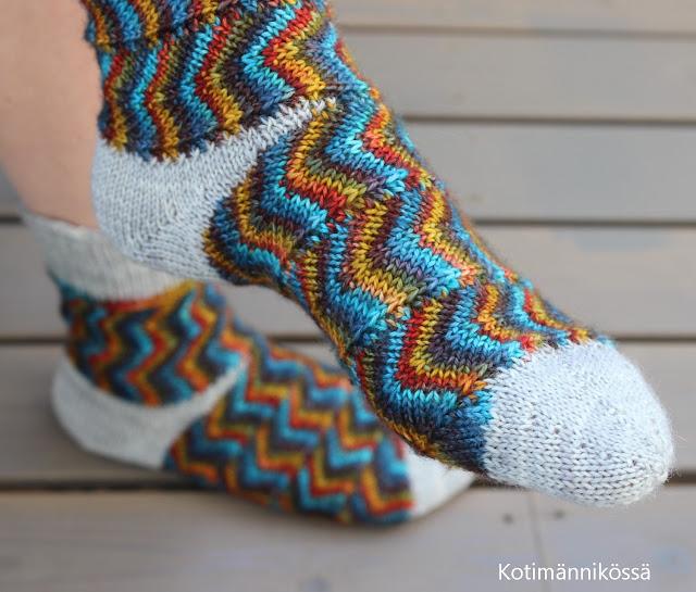 siksakkuvio sukat tour-de-sock 2018