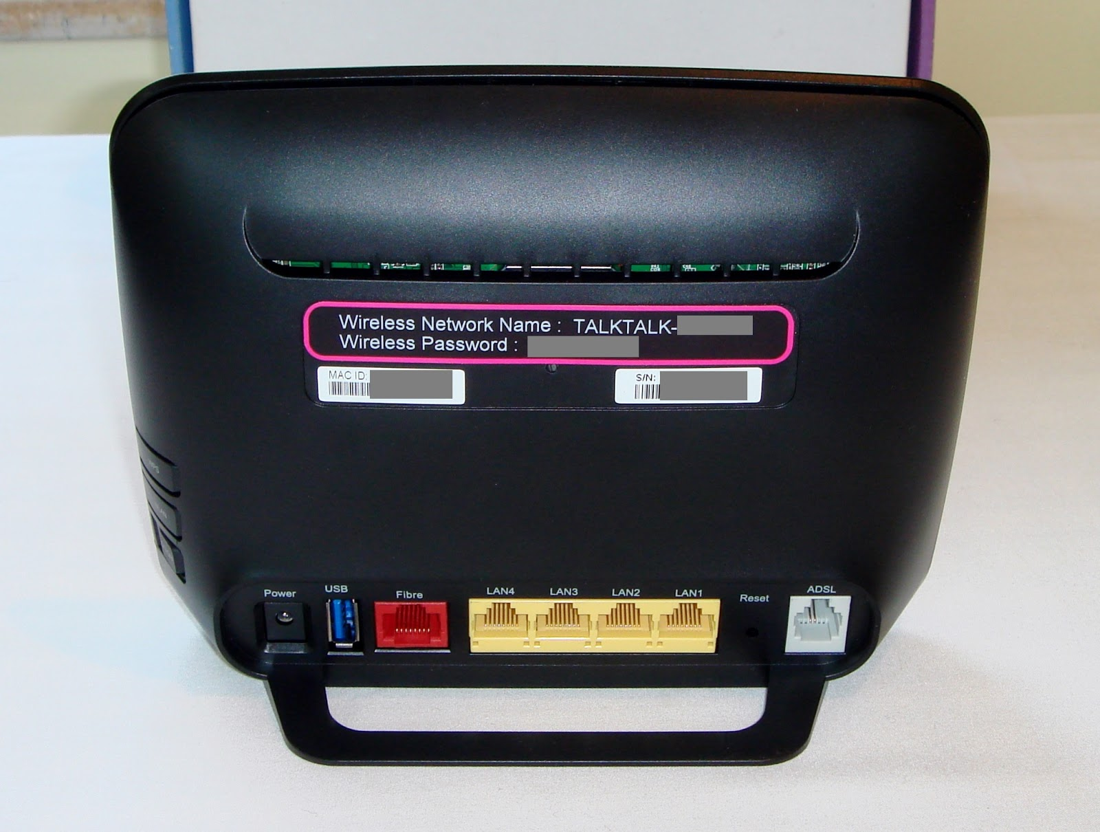 Talktalk D-Link Dsl-3780 Info And Use With Other Isps-6417