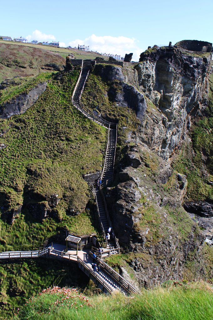 Tintagel Castel - The Wayfarer