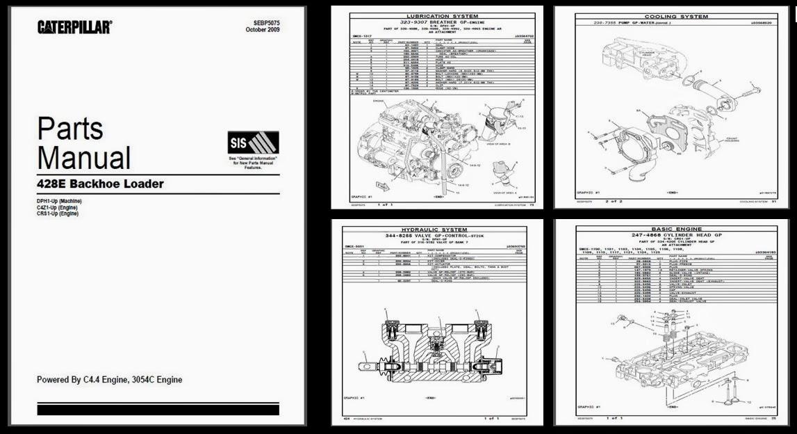 Manual De Partes cat 3512b
