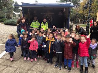 Η Διεύθυνση Αστυνομίας Πιερίας συμμετέχει και φέτος με ενημερωτικές δράσεις στο Χριστουγεννιάτικο πάρκο της Κατερίνης