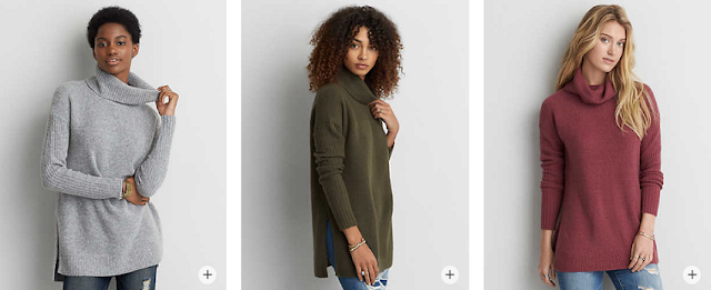 Ahh-mazingly Soft Turtleneck Sweaters for only $33 (reg $55)