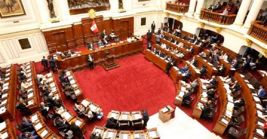Congreso aprueba norma que impide laborar en sector público a condenados por terrorismo y violación sexual