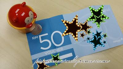 RM50 vouchers
