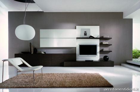 Pod studio color splash shadows of grey and brown for Pareti soggiorno grigio perla