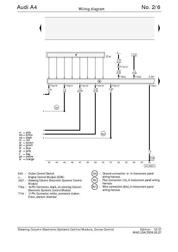 how to read audi wiring diagrams
