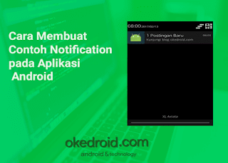 cara membuat notification di android studio