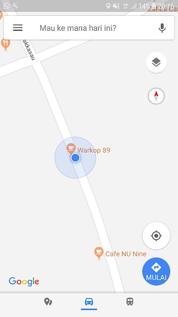 Foto, Google Map Warkop 89 Mamuju