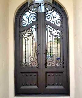 Jual, Pintu, Pagar, Besi, Tempa, Rumah, Mewah, Klasik