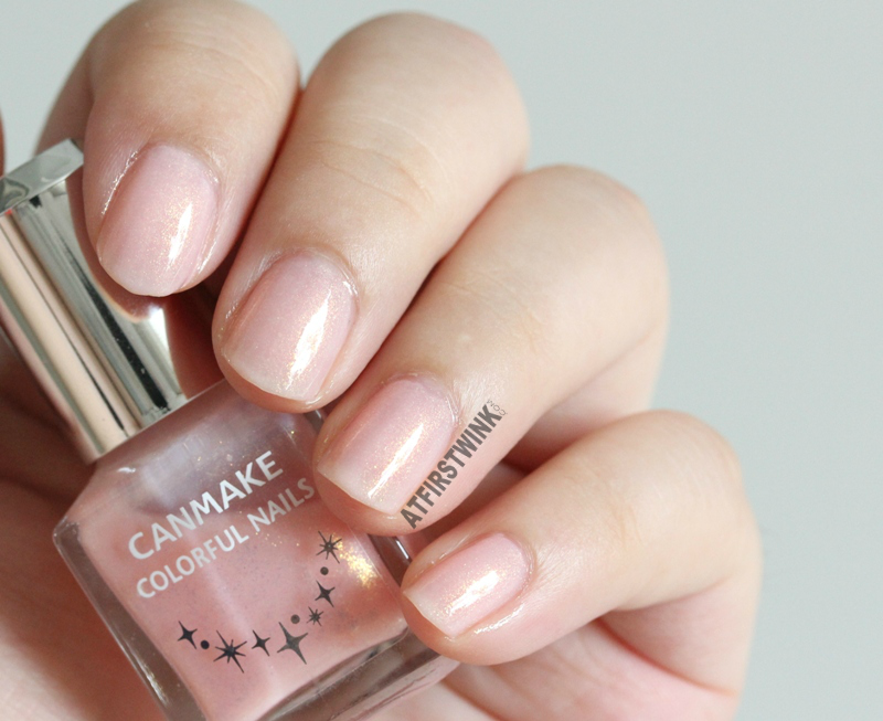 Canmake Colorful nails nail polish no. 43 whole hand