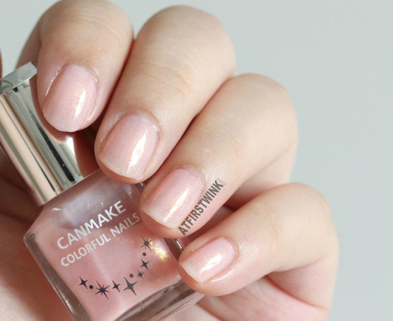 Canmake Colorful nails nail polish no. 43 whole hand