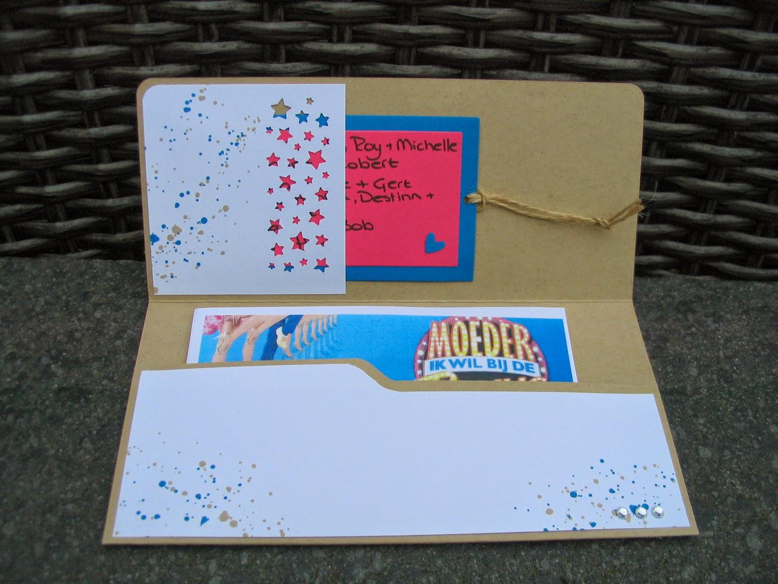 Mariannes Scrapcards Kado Envelop Voor Het 55 Jarig